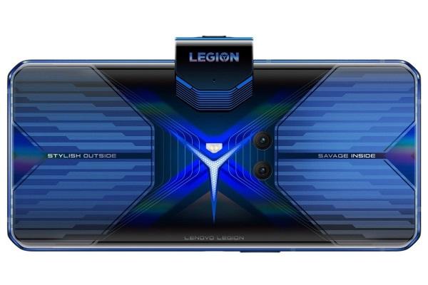 На задней панели Lenovo Legion Duel можно устанавливать цветную индикацию для разных типов уведомлений