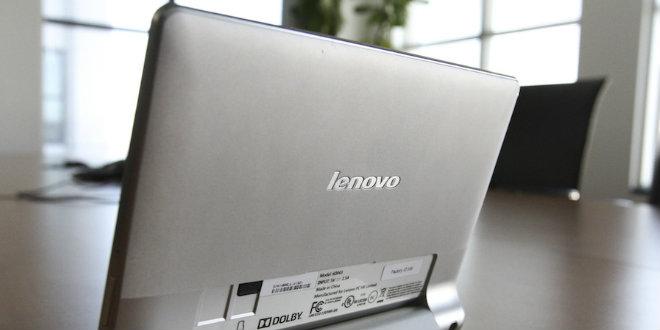 Открыть планшета Lenovo