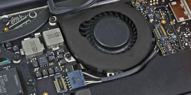 Вентилятор на ноутбуке Lenovo