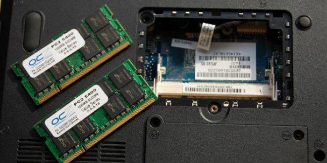 Оперативная память в ноутбуке Леново