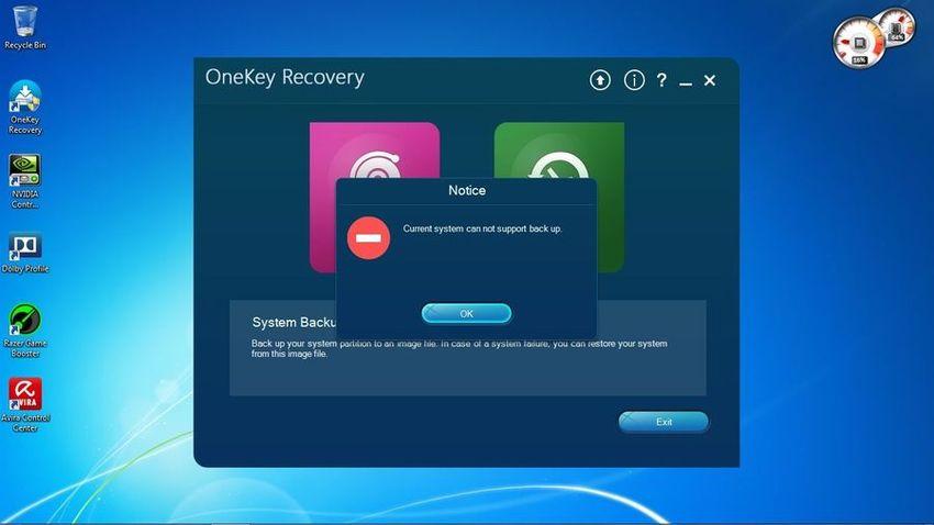 Как пользоваться OneKey Recovery