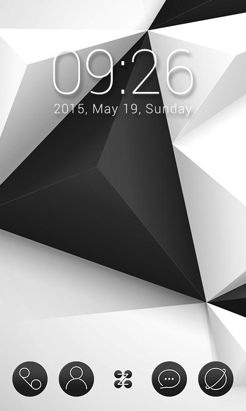 Black & White для Леново